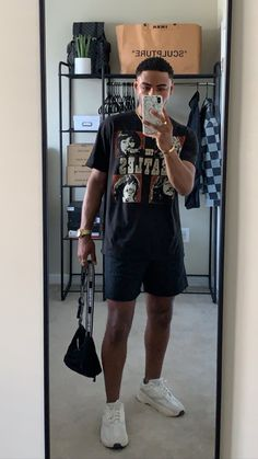 Dope Outfits For Guys, Summer Outfits Men, Stylish Mens Outfits, Casual Outfits, Street Style Outfits Men, Black Men Street Fashion, Mens Clothing Styles, Streetwear Fashion, Street Wear