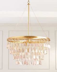 Shop Contemporary Chandelier with Glass Shades from John-Richard Collection at Horchow, where you'll find new lower shipping on hundreds of home furnishings and gifts. 3 Light Chandelier, Beaded Chandelier, Bubble Chandelier, Glass Chandelier, Pendant Lighting, Benjamin Moore Colors, Large Chandeliers, Elegant Chandeliers, Contemporary Chandelier