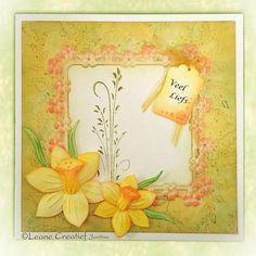 Leane Creatief Cutting Dies - Multi Die Flower #7 Daffodil 450379