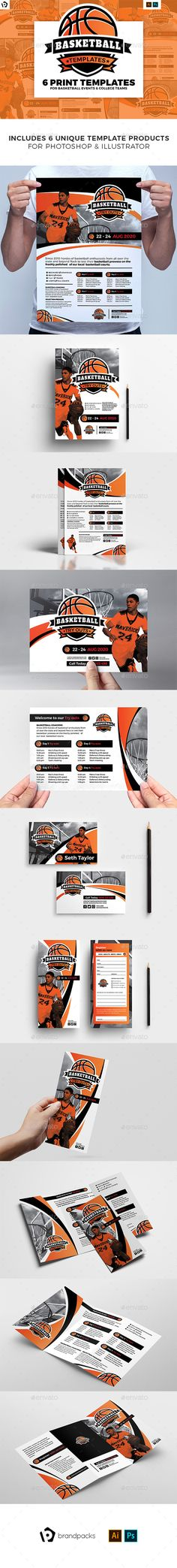 3df3a746b48c 360 Best Basketball Flyer Template images