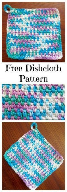 My Favorite Dishcloth Free Crochet Pattern Abbreviations: ch= chain sc= single crochet st(s)= stich(es) hk= hook Materials: Size G hook 100% cotton yarn (I used [...]