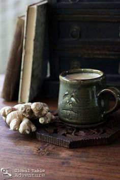 Right now: I could go for a steaming hot cup of this Swahili Ginger n' Milk tea...