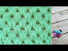 Crochet Knit Stitch English 34 Ideas For 2019 Lidia Crochet Tricot, Crochet Poncho, Knitting Stitches, Knitting Patterns, Honeycomb Stitch, Knit Dishcloth, Crochet Videos, Crochet Projects, Knitting Tutorials