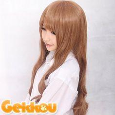 Brown Heat Friendly Hair Wig/lolita Cosplay Wig/party Wig WIGG005