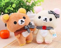 """Rilakkuma Stuffed Toy Size: 12 cm Not Sold In Stores! - Exclusive Product Limited Time Offer: On Sale + FREE SHIPPING Click """"Add To Cart"""" To Get Yours! Please allow 7-14 business days for the item to"""