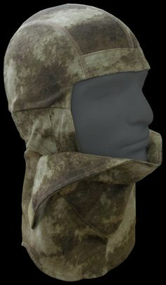 A-TACS AU TACTICAL FACE MASK (NINJA MASK) | Head Gear | Tactical Gear $28  Category: Face Mask  A-TACS AU 100% US Cotton Jersey  Six thread flat seam for comfort and extra durability  Shape retention nose piece for better fit  Ear opening for communication device wiring and better hearing  Easy front opening (half or full) for quick ventilation and easy fluid control  Rear loop for goggle strap hold