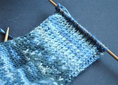 How To:  Reinforcing the Heel Flap when knitting a sock