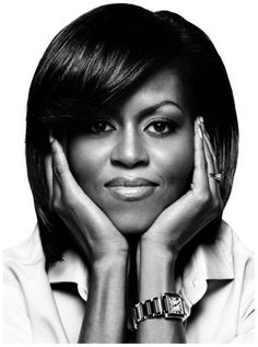 Michelle Obama by platon antoniou