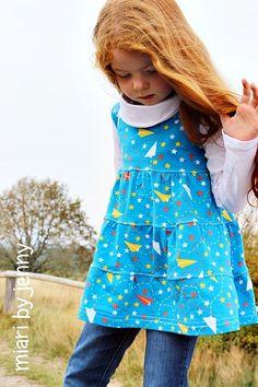 lillesol & pelle Schnittmuster/ pattern: Stufenshirt