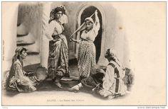 ALGERIE - ALGER - La Danse des Almées - Phot. LEROUX Alger