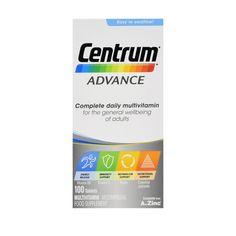Centrum Advance Multivitamin Multimineral Supplement, 100 Tablets