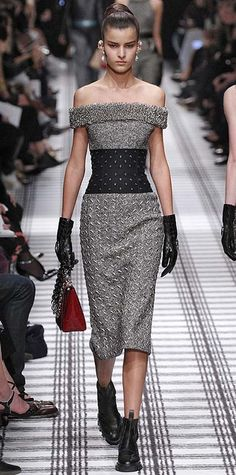 Runway Looks We Love: Balenciaga - Fall/Winter 2015 from #InStyle