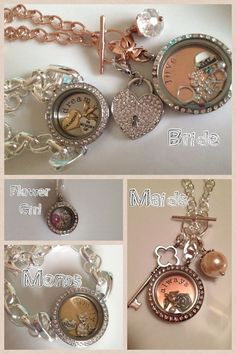 Origami Owl is perfect for weddings!! Your bridesmaids are sure to love such a personal gift! Shop Online at www.mirandamoran.origamiowl.com