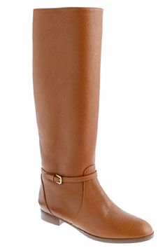Kicking It: Shop Fall 2012's Top Trends in Boots - Riding High - J.Crew