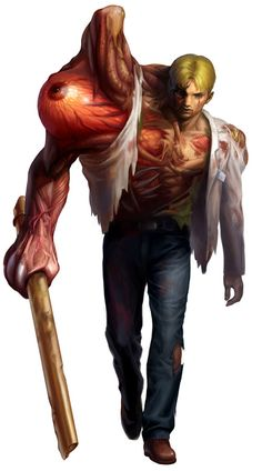 William Birkin's first form Resident Evil 2 remake concept art. William Birkin's second form Resident Evil 2 remake concept art. Resident Evil Video Game, Character Art, Character Design, Fantasy Demon, The Evil Within, Monster Design, Creature Design, Fantasy Creatures, Birkin