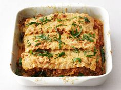 Stovetop Lasagna    Food Network Magazine's 30-minute lasagna is packed with spinach, meat and cheese and can be made right on the stove.