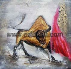 Abstract decorative bullfight CL1184