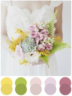 spring colors #weddings