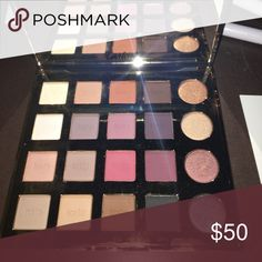 Tarte tarteist pro palette Tarte pro palette. Only two colors have been used, as shown in the pic. They've been sanitized. Bundle for better deals. NARS Makeup Eyeshadow