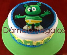 Gummy Bear Cakes, Gummy Bears, Bear Pictures, Birthday Cake, My Favorite Things, Desserts, Food, Presents, Food Cakes