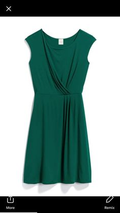 I don't like the dress, but this color or anything else green makes my green eyes pop ...... amazing