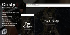 cool Cristy - Modern day Site template (Inventive)