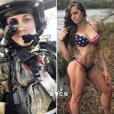 Beautiful badasses looking hot in (and out of) uniform Photos) Female Army Soldier, Hot Country Girls, Sexy Hot Girls, Girls Fit, Army Girls, Military Girl, Military Women, Armada, Girls Uniforms