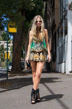 FOUREYES - New Zealand Street Style Fashion Blog: JENNA - SYDNEY