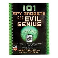 101 Spy Gadgets For The Evil Genius  $15.14