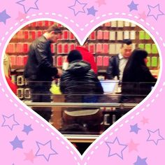 """In this week's episode (now up on iTunes) Kat confesses that """"the fact that I know who Dean McDermott is is a fact that I have to reconcile, as a human being, every single day."""" Spotted by Lizzie at The Grove's Apple Store: Dean McDermott doing last-minute Christmas shopping! But will an iPad Mini for Tori make up for past transgressions? We are always rooting for you Tori! #sToritelling #DonnaMartin"""