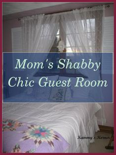 Shabby Chic Guest Room | Mom's Shabby Chic Guest Room. Shabby elegant living room design ideas that are impossible to not love. Shoddy Chic Decor, Sha... Shabby Chic Room Divider, Shabby Chic Guest Room, Shabby Chic Bedrooms, Shabby Chic Decor, White Washed Furniture, Wall Accessories, Elegant Living Room, Room Mom, Soft Furnishings
