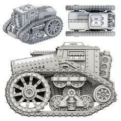 Prussian Empire Kettenkarre Tankette | Spartan Games