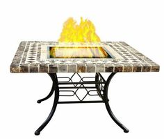 "VioFlame 33"" Square Marble Ethanol Firetable by VioFlame. $837.35. Provides a focal point for you and any guests to enjoy. Portable so it can be used where you need the most warmth. Clean source of fuel requires no fossil fuel. Effective flame effect for ambiance and heating. Complementary to any outdoor patio decor. Enjoy an ideal outdoor environment with the VioFlame VFFTM-33SQ 33"" square marble ethanol fire table. This model adds decorative interest to any setting."