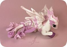 Amethyst rose dragon by AlviaAlcedo.deviantart.com on @DeviantArt