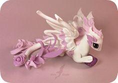 Amethyst rose dragon by AlviaAlcedo.deviantart.com on @DeviantArt