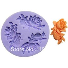 Aliexpress.com : Buy Hot sale!!!New  3D Mini 5.1x3.1x0.5cm 3 Fish Cut Flowers (F0164)  Silicone Handmade Fondant  Mold DIY Mold Cake Decorating from Reliable Silicone Fondant Mold suppliers on Silicone DIY Mold and  Home Supplies Store $8.98