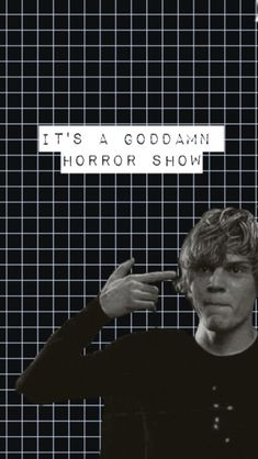 I'm so in love with my new lock screen (and Tate Langdon ofc) Evan Peters, American Horror Story, Ahs, Scary Movie 2, Tate And Violet, Help The Poor, Stitch Book, Horror Show, Emma Roberts