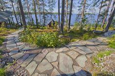 Forest Garden, Garden Paths, Lawn And Garden, Home And Garden, Woodland, Beach House, Sidewalk, Cottage, Landscape