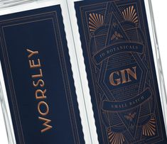 Worsley Gin on Packaging of the World - Creative Package Design Gallery