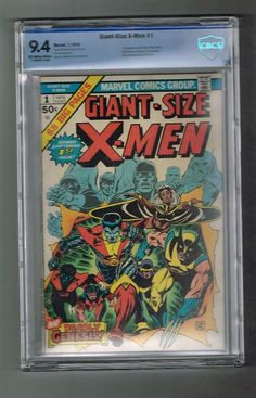 "GIANT SIZE X-MEN #1 CBCS Grade 9.4! Key issue: 1st ""new"" (Modern) team!  http://www.ebay.com/itm/-/292029554418?roken=cUgayN&soutkn=bOBpKF"