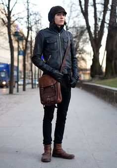 boots and bag