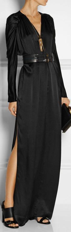 Maiyet's ● silk-satin gown