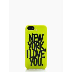 ksny x darcel new york I love you resin iPhone 5 case