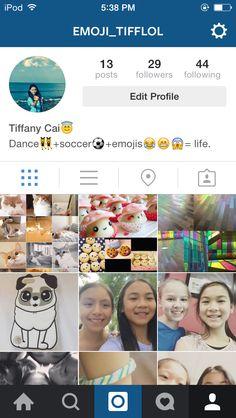 Follow my Instagram. @emoji_tifflol   ❤️⚽️