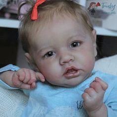 12'' Realistic Sweet Reborn Baby Girl Doll Elizabeth Real Life Baby Dolls, Cute Baby Dolls, Real Doll, Baby Girl Dolls, Boy Doll, Cute Babies, Reborn Baby Girl, Reborn Baby Dolls, Silicone Reborn Babies