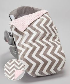 Take a look at this Lolly Gags Baby Pink & Silver Chevron Minky Car Seat Blanket Set on zulily today! Car Seat Blanket, Security Blanket, Random Kid, Cozy Cover, Baby Carriage, Everything Baby, Baby Love, Baby Baby, Baby Gear