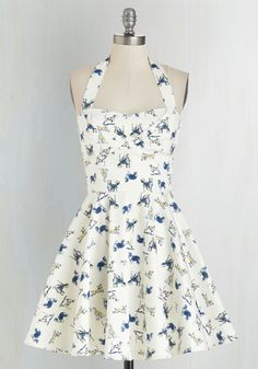Traveling Cupcake Truck Dress in Dogs, #ModCloth