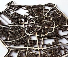 Hello guys,This is an Instructable (as a part of the course TFCD) on making a laser cutted map of any town you desire!So for example your hometown, the city your. Laser Cutter Ideas, Laser Cutter Projects, Cnc Projects, Laser Art, Laser Cut Wood, Laser Cutting, Woodworking Hand Tools, Woodworking Crafts, Woodworking Videos