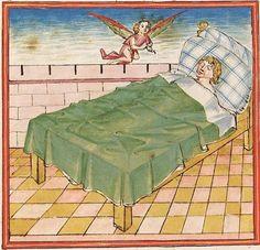 Elisabeth <Nassau-Saarbrücken, Gräfin, 1393-1456> Herpin — Stuttgart (?) - Werkstatt Ludwig Henfflin, um 1470 Cod. Pal. germ. 152 Folio 20v