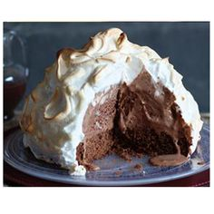 Baked Alaska Recipe from GLORIOUS GOODIES